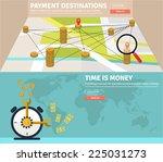 flat design concepts for e...   Shutterstock .eps vector #225031273