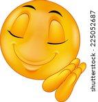 sleeping emoticon | Shutterstock . vector #225052687