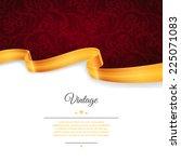 vector illustration of vintage... | Shutterstock .eps vector #225071083