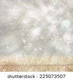 bokeh lights background with... | Shutterstock . vector #225073507