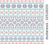 tribal vintage ethnic seamless... | Shutterstock .eps vector #225120253
