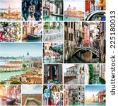 Collage Of Photos From Venice....