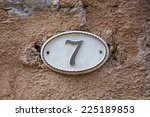 Image Of The Number 7 ...