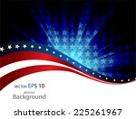 abstract vector background.... | Shutterstock .eps vector #225261967