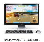 creative abstract computer...   Shutterstock . vector #225324883