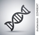 vector dna icon | Shutterstock .eps vector #225408247