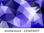 abstract of blue geometric... | Shutterstock . vector #225655657