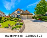 luxury house in vancouver ... | Shutterstock . vector #225801523