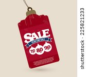 Year End Sale Tag With...