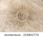 the sun on the sand | Shutterstock . vector #225842773
