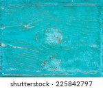 old blue painted wood background | Shutterstock . vector #225842797