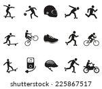 street sport biking skating...   Shutterstock .eps vector #225867517