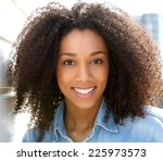 close up portrait of a... | Shutterstock . vector #225973573