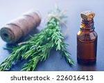 rosemary oil | Shutterstock . vector #226016413