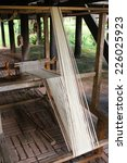 Small photo of CHIANG MAI,THAILAND-OCT25 : Native handloom of Tai Lue. Tai lue is a native people in Thailand, in Tai Lue's way of life2014 (process to be vintage style) ,On Oct25, 2014. in Chiang Mai, Thailand.