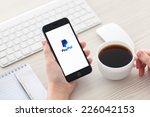 alushta  russia   october 25 ... | Shutterstock . vector #226042153