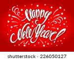 happy new year | Shutterstock .eps vector #226050127