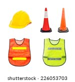 Постер, плакат: Yellow safety helmet