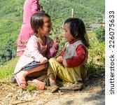 lao chai village  vietnam   sep ... | Shutterstock . vector #226075633