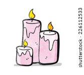 cartoon scented candles | Shutterstock .eps vector #226112533