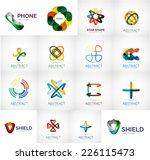 abstract company logo vector... | Shutterstock .eps vector #226115473