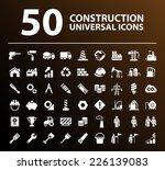 50 universal standard white... | Shutterstock .eps vector #226139083