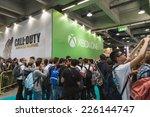 Постер, плакат: People visit Games Week