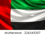 flag of the united arab... | Shutterstock . vector #226165207