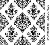 floral vector oriental pattern... | Shutterstock .eps vector #226207627