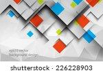 eps10 vector geometric elements ... | Shutterstock .eps vector #226228903