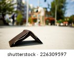 man looking for wallet laying...   Shutterstock . vector #226309597