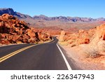 Road Through Scenic Valley Of...