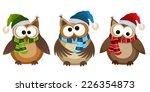 vector illustration of funny... | Shutterstock .eps vector #226354873