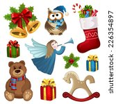 vector collection of christmas... | Shutterstock .eps vector #226354897