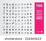 set of icons | Shutterstock .eps vector #226365613