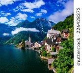 seaside villa. italy  | Shutterstock . vector #226428373