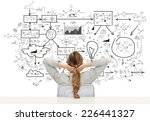 business  education  people and ...   Shutterstock . vector #226441327