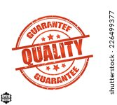 vector quality stamp | Shutterstock .eps vector #226499377