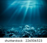 Sea Deep Or Ocean Underwater...