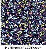 flower pattern | Shutterstock .eps vector #226533097