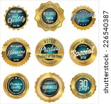 premium  quality retro vintage... | Shutterstock .eps vector #226540387
