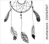 ethnic illustration with...   Shutterstock .eps vector #226564567