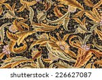 finely woven silk carpet  in a... | Shutterstock . vector #226627087