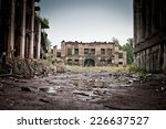 abandoned houses and ruined...
