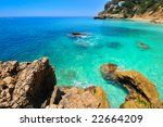 gorgeous mediterranean coast in ... | Shutterstock . vector #22664209