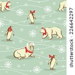 Seamless Winter Christmas...
