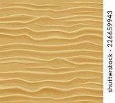 sand texture. desert sand dunes ... | Shutterstock .eps vector #226659943