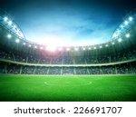 stadium night | Shutterstock . vector #226691707
