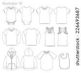 vector illustration of kid's...