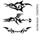 tribal design | Shutterstock .eps vector #22669561
